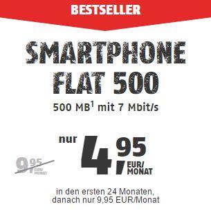 klarmobil Smartphone Flat 500