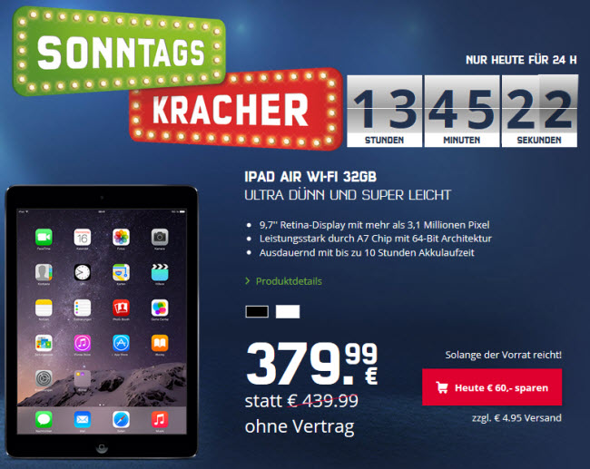 ipad-air-sonntagskracher