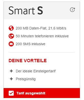 Vodafone Smart S