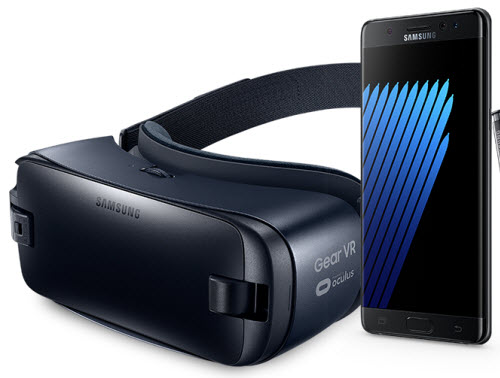 gratis samsung gear vr brille bei galaxy note 7 vorbestellung. Black Bedroom Furniture Sets. Home Design Ideas