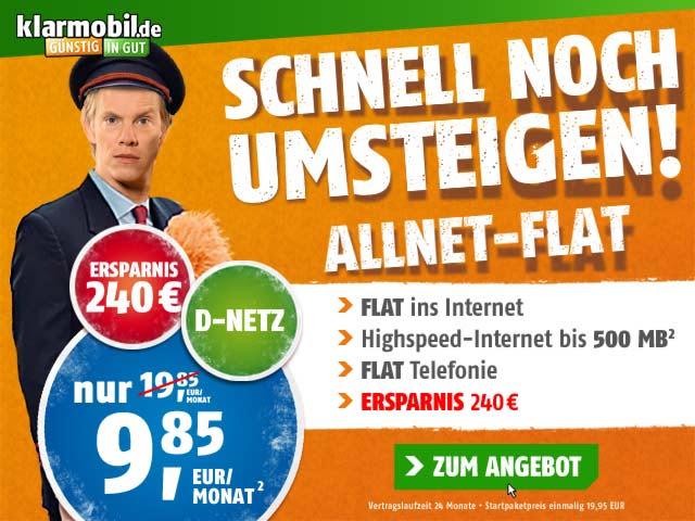 klarmobil Allnet-Spar-Flat
