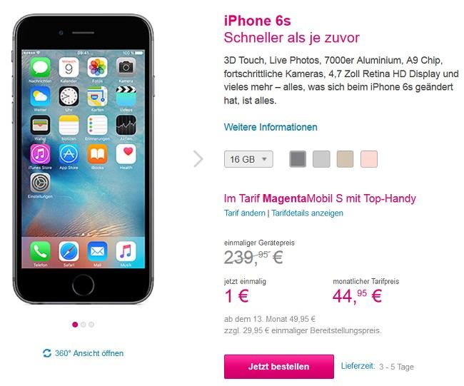 Iphone S Ohne Vertrag Angebot