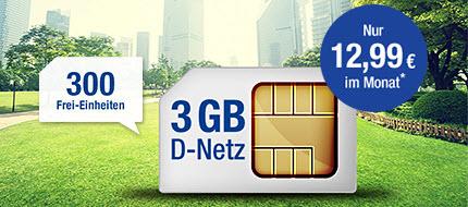 GMX All-Net & Surf 3 GB