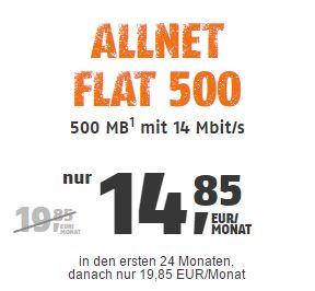 klarmobil Allnet Flat 500