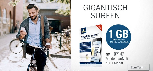 tchibo mobil aktionstarif allnet tarif 1 gb f r 9 95. Black Bedroom Furniture Sets. Home Design Ideas