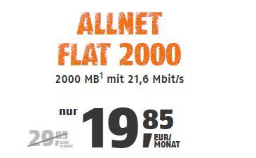 klarmobil Allnet FLat 2000 3