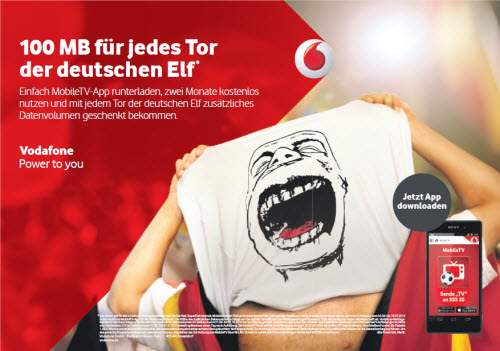 Vodafone Gratis Mb