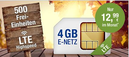 GMX All-Net & Surf 4 GB