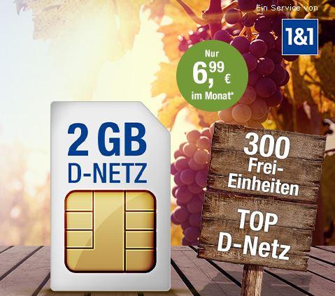 GMX Allnet & Surf 2 GB