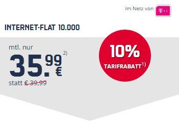 Internet-Flat 10.000