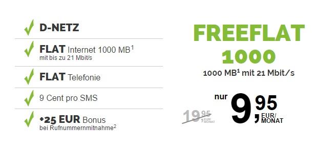 freenetmobile freeFlat 1000