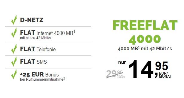 freenetmobile freeFlat 4000