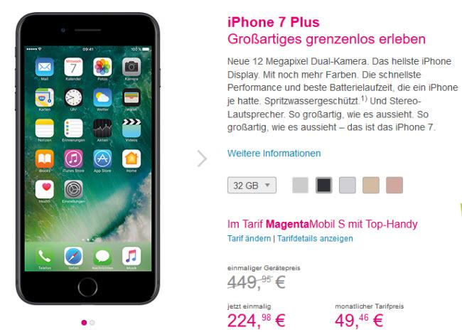 bester iphone 7 vertrag