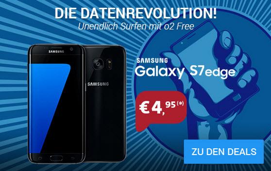 Samsung Galaxy S7 Edge Mit O2 Free M Vertrag Für 495