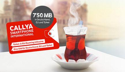 Callya Karte.Vodafone Callya International Prepaid Karte Gratis