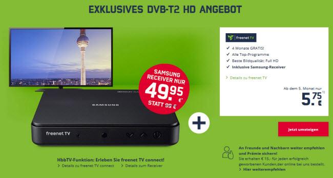 Freenet Tv Hammer Dvb T2 Empfang 4 Monate Gratis